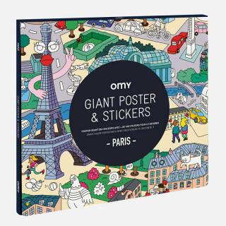 POSTER ET STICKERS PARIS