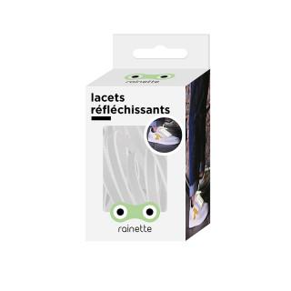 LACETS REFLECHISSANTS - BLANC
