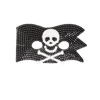 MASQUE PIRATE A SEQUINS