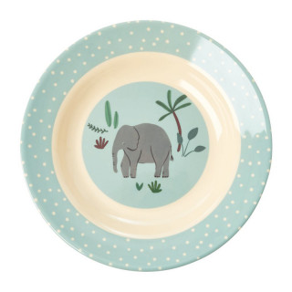 ASSIETTE JUNGLE ELEPHANT