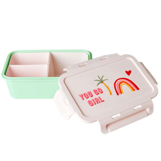 LUNCH BOX COMPARTIMENTS YOU GO GIRL