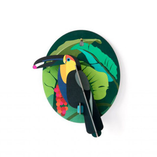 DECORATION MURALE TOUCAN