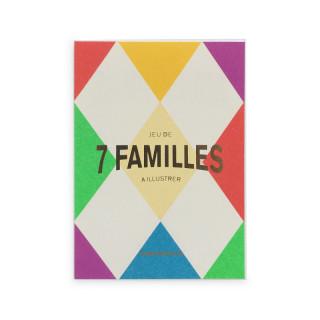 JEU DE 7 FAMILLES A ILLUSTRER