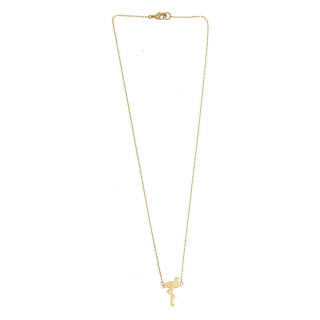 COLLIER FLAMANT OR
